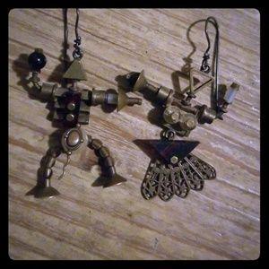 Artisan rare earrings